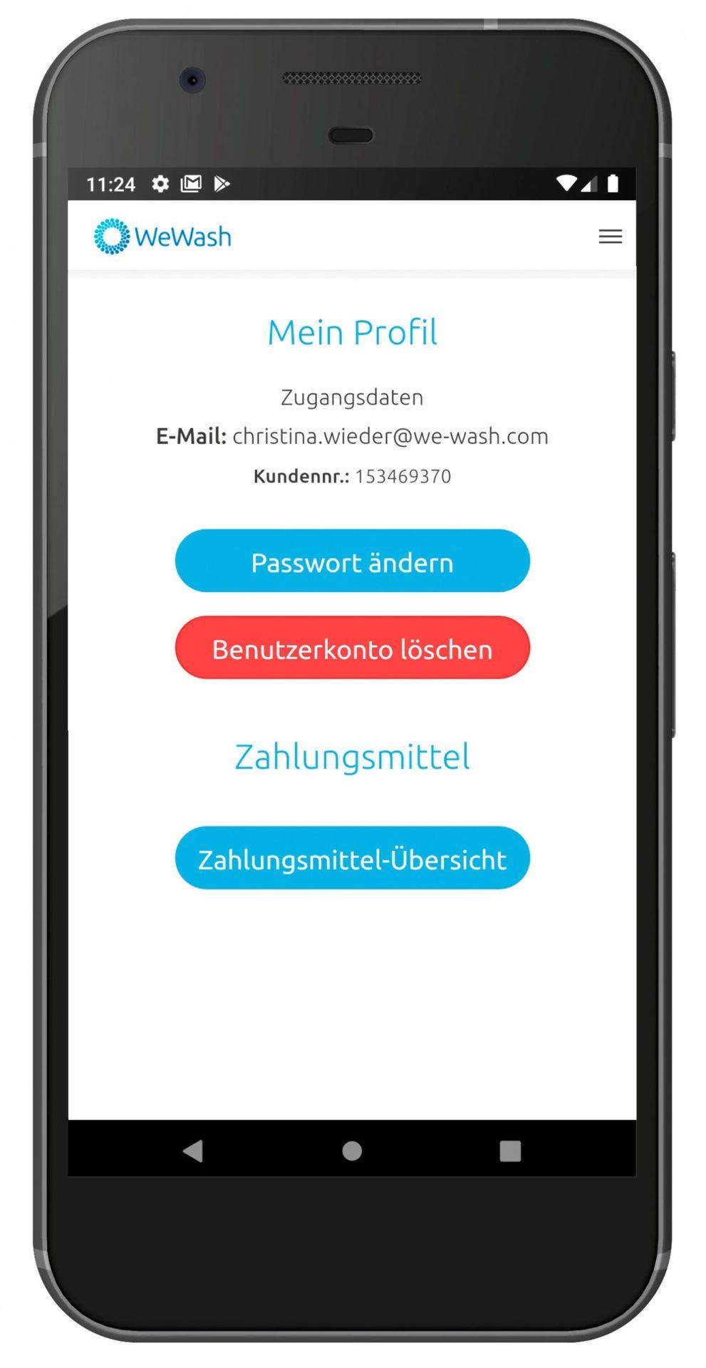 Smartphone Löschen Benutzerkonto