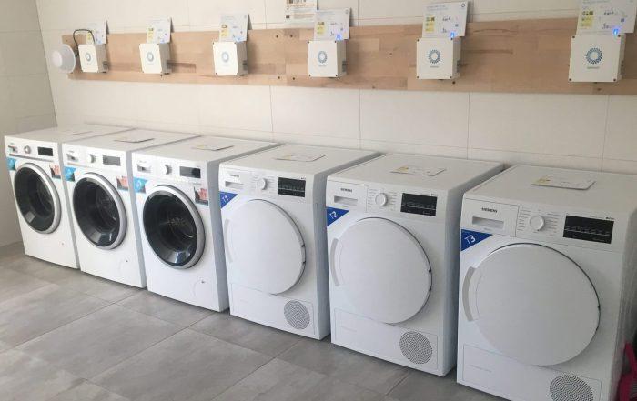 WeWash-Waschraum Waldstadtimmobilien