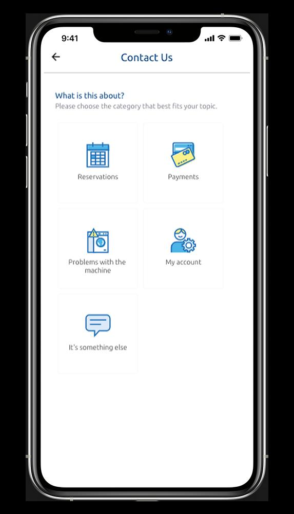 WeWash App Help Cener