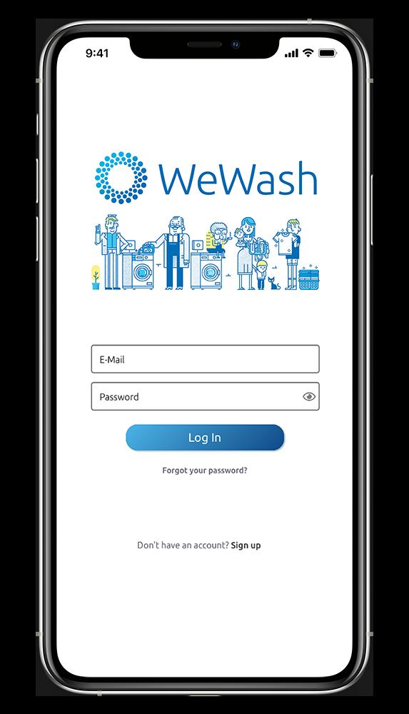 WeWash App Login