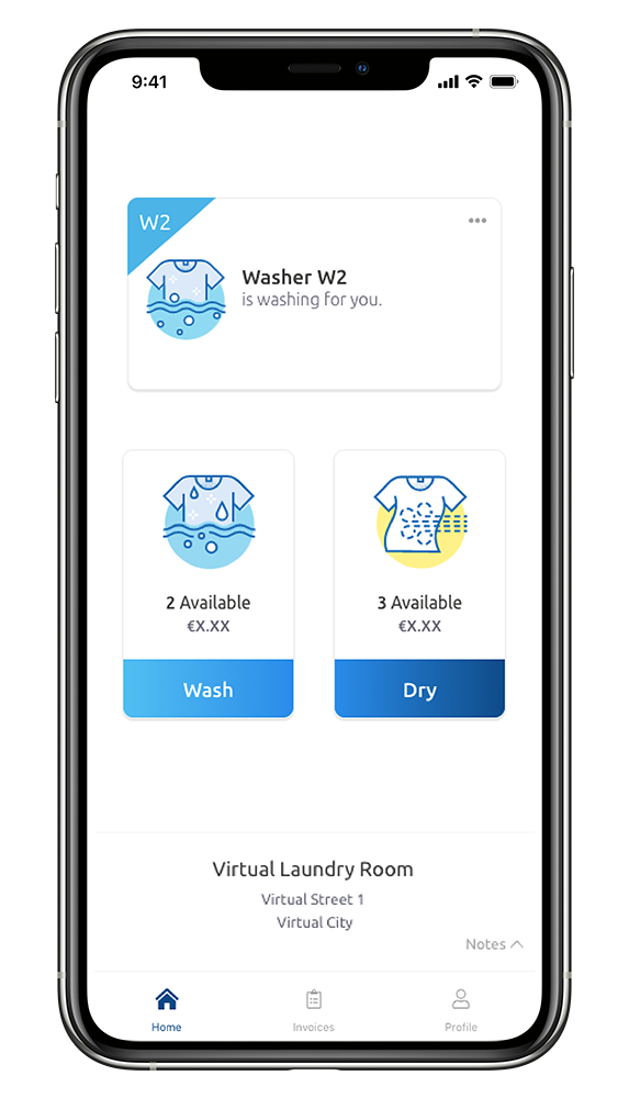 WeWash App Washing for you