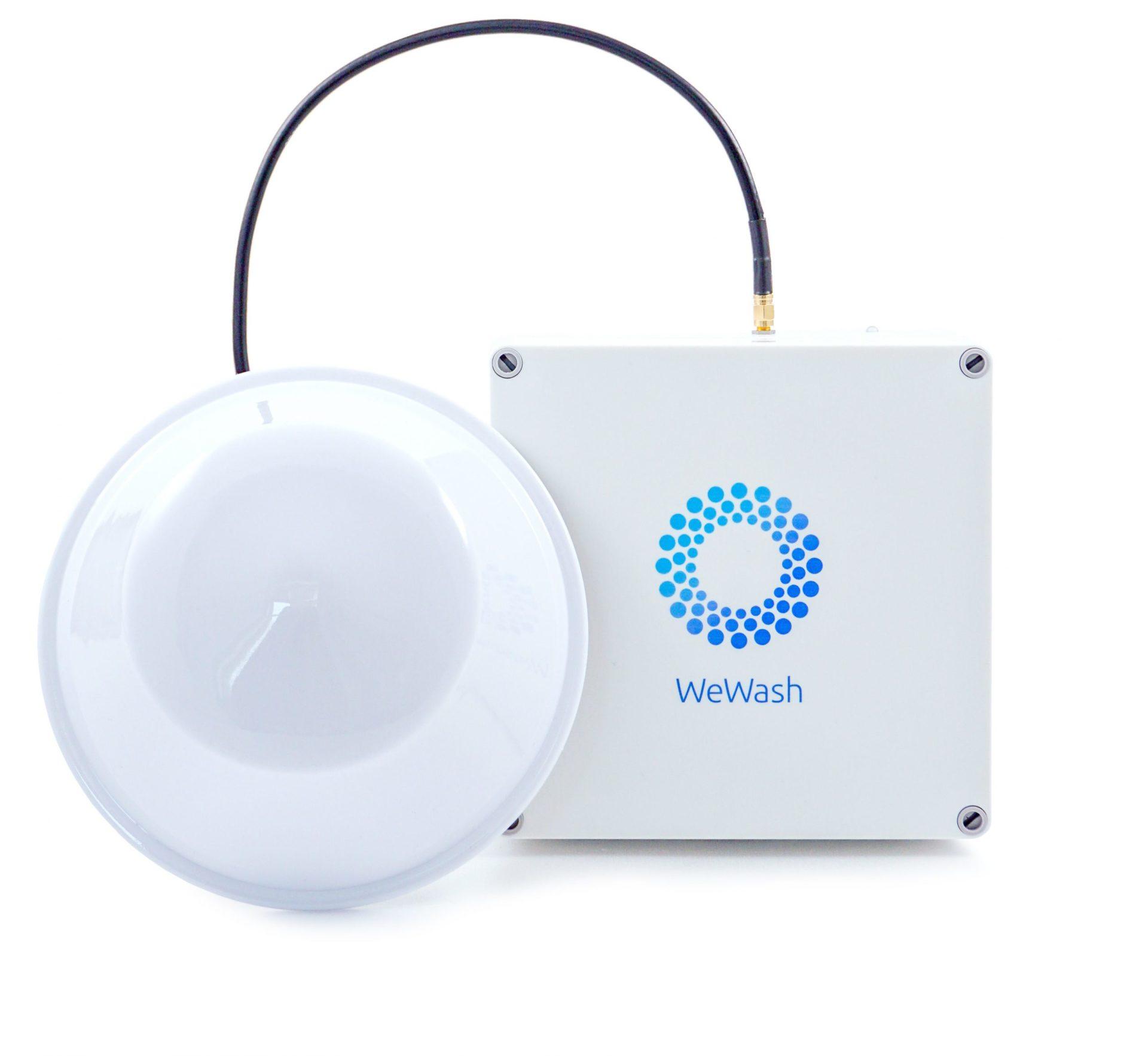 WeWash Box mit Antenne