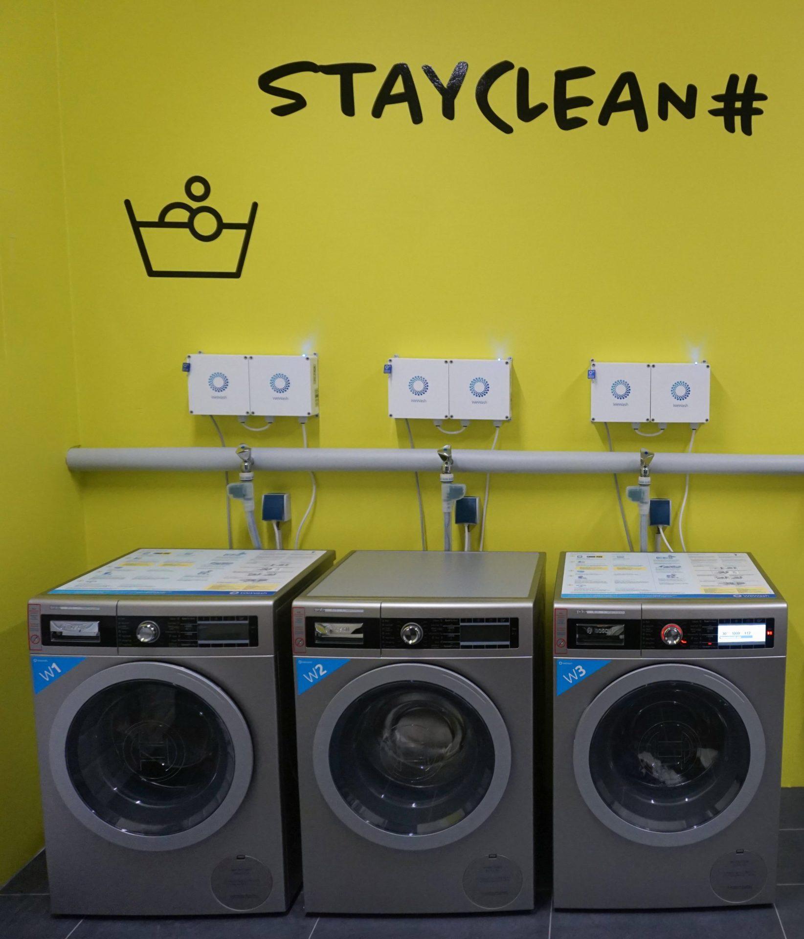 WeWash exklusive BOSCH Waschmaschinen im INOX-Design